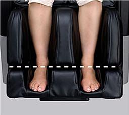 Кресло FUJIIRYOKI EC-3800 может дополнительно раскладываться